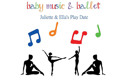Juliette & Ella's Play Date: Baby Music & Ballet (at House of Jai)